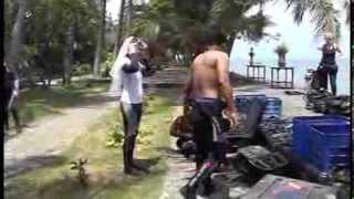 Подводная свадьба на о. Бали