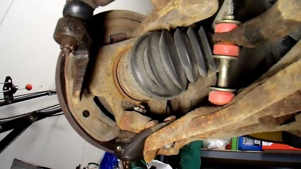 Lower Ball Joint Replacement Gm H Body Part1 Youtube