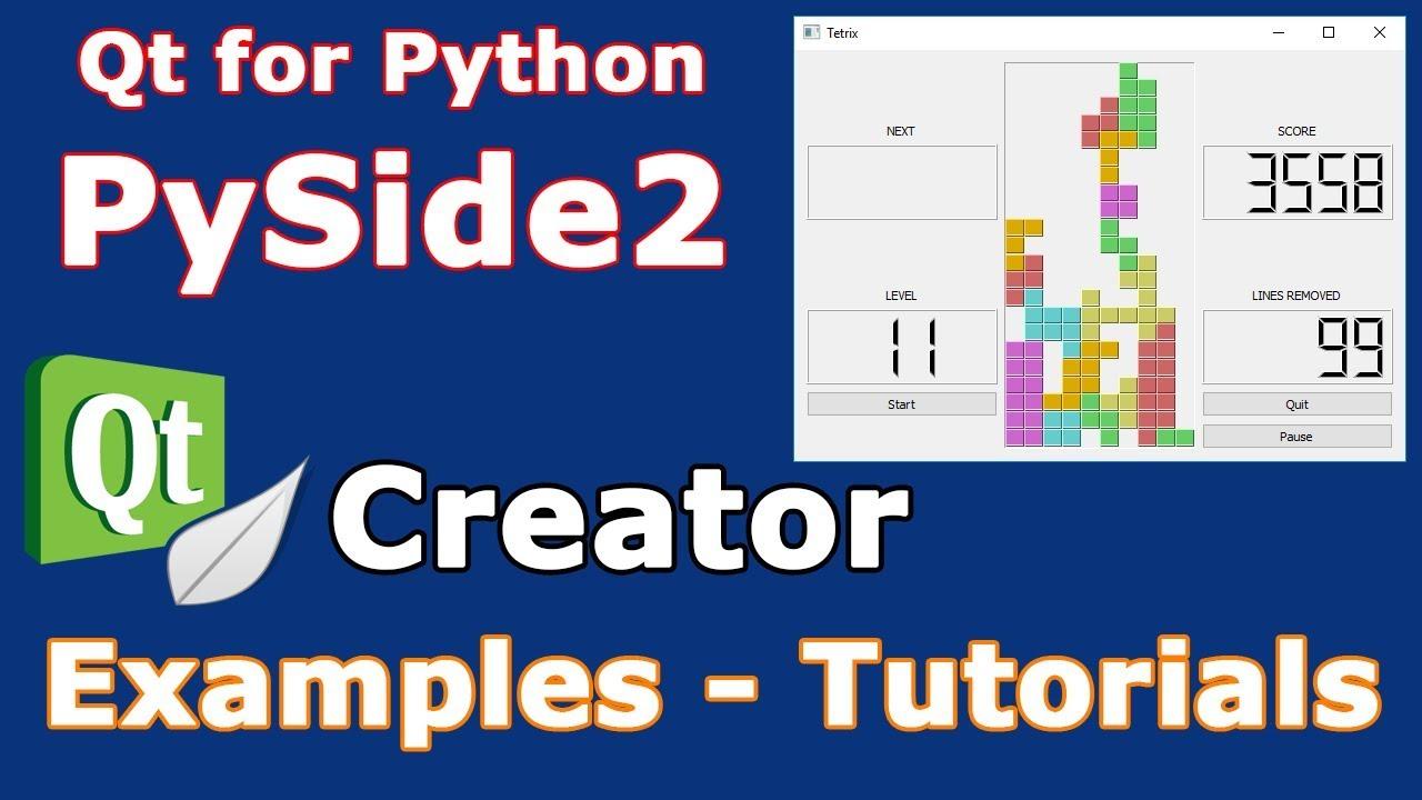 Pyside2 example code