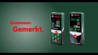 Bosch Digitaler Laser Entfernungsmesser Plr 15 : Bosch laser entfernungs und winkelmesser youtube