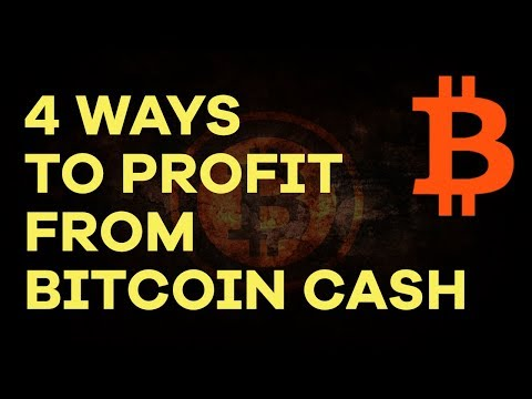 How To Profit From Bitcoin Cash (BCC/BCH) + When To Buy & Se