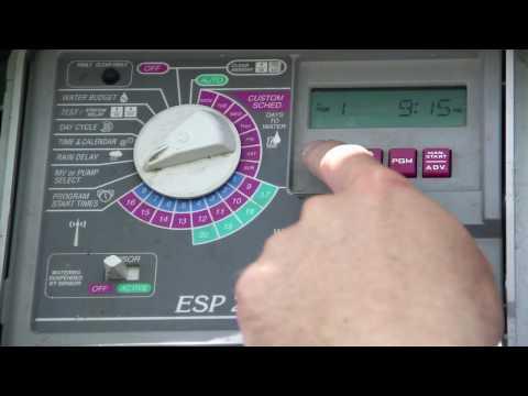 Webbtraining1 - Rainbird Irrigation Control Training Video