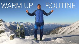 Warm-up routine specifically for hikers, mountaineers, trekkers, runners, climbers \u0026 alpinists.