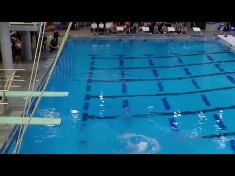 Trevor Crane 2018 Northern Region Swim & Dive Championships
