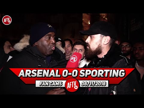 Arsenal 0-0 Sporting Lisbon | They Were The Best Away Fans At The Emirates This Season (Turkish)