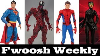 Weekly! Marvel Select Spider-Man, DC Essentials, Revoltech Carnage, DBZ, and One:12 Catwoman!