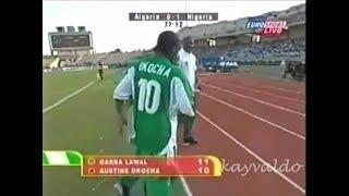 Jay Jay Okocha vs Algeria (AFCON 2002)