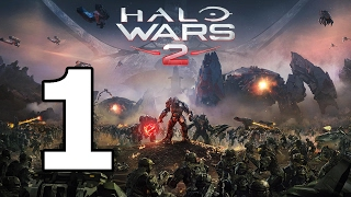 Halo Wars 2 Walkthrough Part 1 - No Commentary Playthrough (Xbox One)