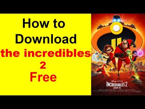 The Incredibles 2 Full Movie Full HD  Download Free