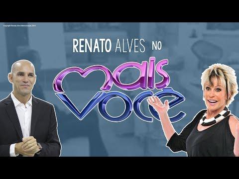 RENATOALVES.COM.BR no programa da Ana Maria Braga