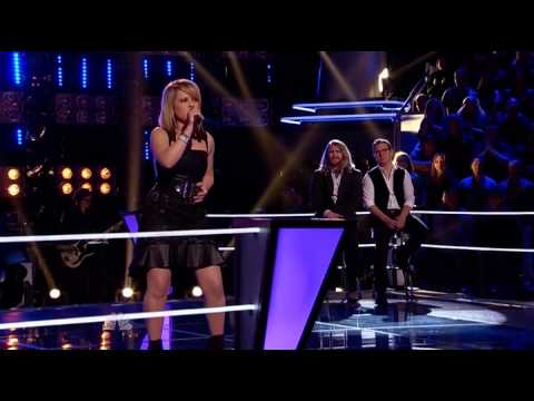 Amber Carrington  Im With You The Voice USA Season 4 Knockout Performance