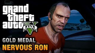 GTA 5 - Mission #19 - Nervous Ron [100% Gold Medal Walkthrough]