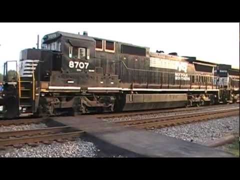 Norfolk Southern Best Of 2011 Part 1 From Austell & Mableton,Ga 01-01-2012© (16x9)