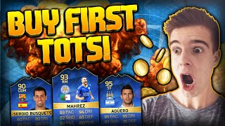 FIFA 16: BUY FIRST TOTS!