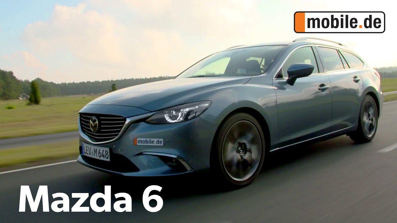 auto-test mazda 6 gj (ab 2012) - mobile.de - youtube