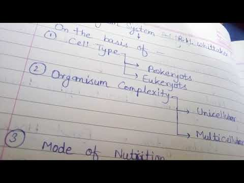 Basic kingdom systems for pmt exam