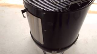 Weber Smokey Mountain Wsm Modified With Wheels