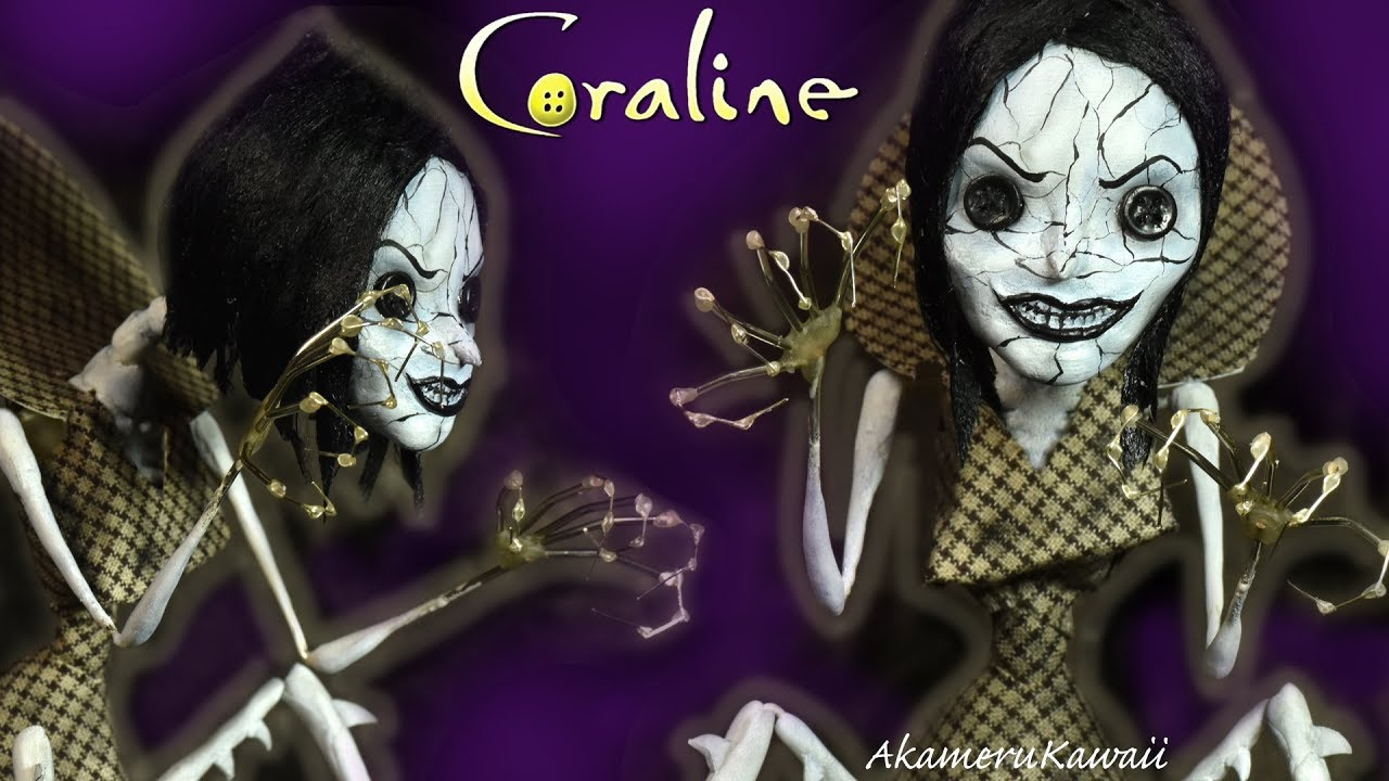 Other Mother Coraline Beldam Doll Repaint Tutorial Youtube