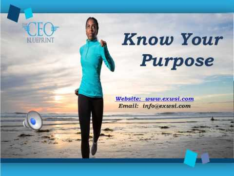 Know Your Purpose Tip