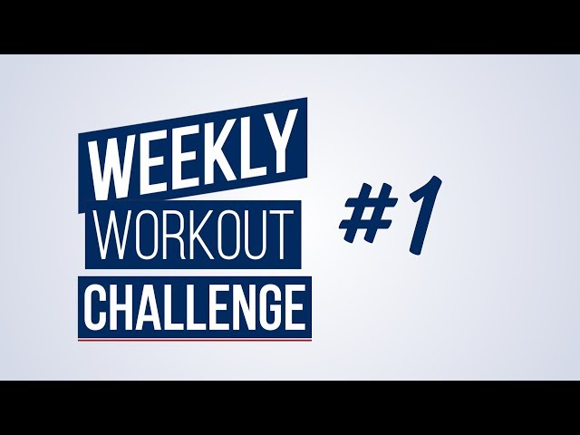 Weekly Workout Challenge #1 | Renaud Center