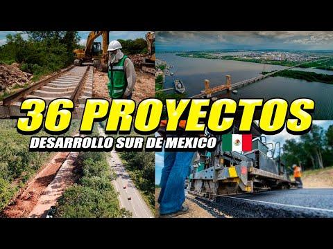 ANUNCIAN 36 PROYECTOS DE INFRAESTRUCTURA PARA DESARROLLAR EL SUR DE MEXICO