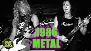 8 Riffs That Prove 1986 Was The Best Year For Heavy Metal