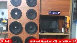 Alphard Hannibal X6L vs X6H vs 6F