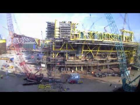 Construction Execution | Topside Timelapse | Deepwater MLK