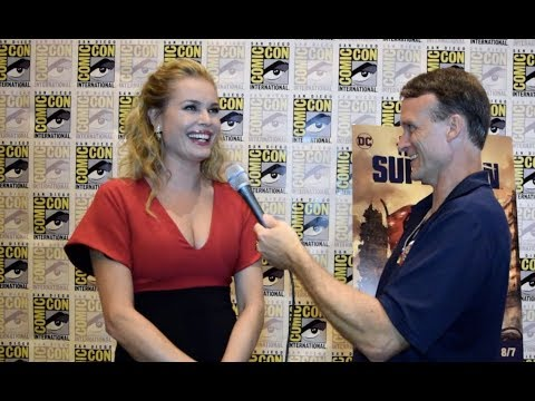 Rebecca Romijn  at The Death of Superman SDCC Premiere