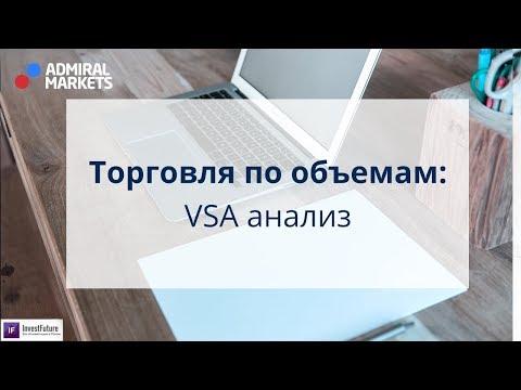 Адмирал Маркетс. Торговля по объемам: VSA анализ на рынке Forex