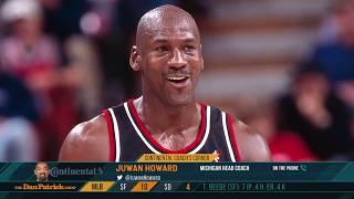 Michael Jordan Story Time w/ Michigan HC Juwan Howard | The Dan Patrick Show | 7/3/19