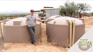 Off Grid Rainwater Harvesting - Home Tour