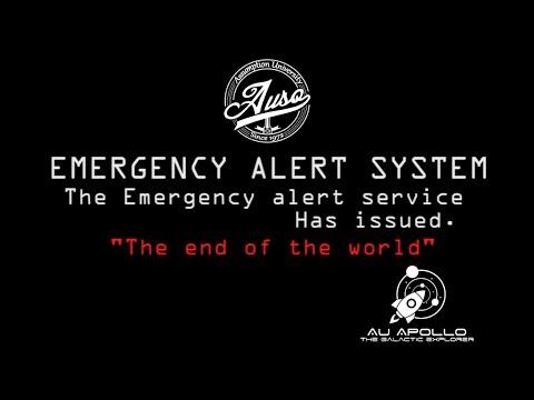 [#AUCAMP2015] EMERGENCY ALERT SYSTEM!