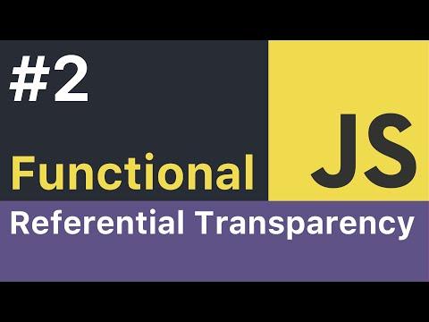 Functional JavaScript Tutorial - #2: Referential Transparency thumbnail