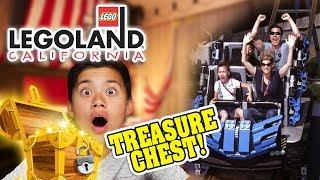 TREASURE CHEST AT LEGOLAND!!!