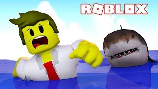 THE GIANT SHARK ATTACK ON ROBLOX