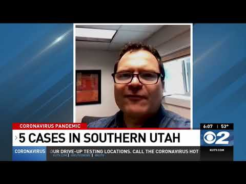 4 new cases of coronavirus reported in southwest region of Utah; 5 total