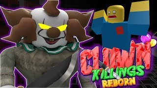 NOOB LAR KATİL PALYAÇO DAN KAÇIYOR / The Clown Killings Reborn / Roblox Türkçe