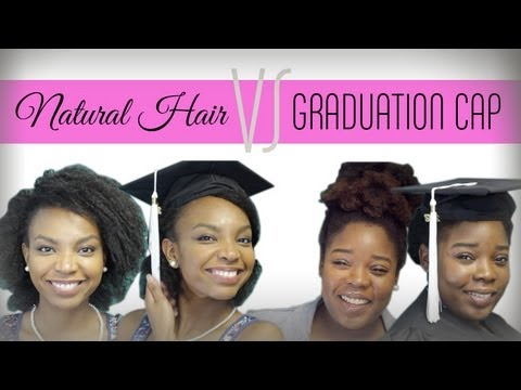 naturallycurly com natural hair vs graduation cap youtube