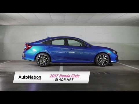 2017 Honda Civic Si 4DR HPT Review - AutoNation