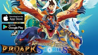 Monster Hunter Stories Gameplay Android / iOS (by CAPCOM) (JP)