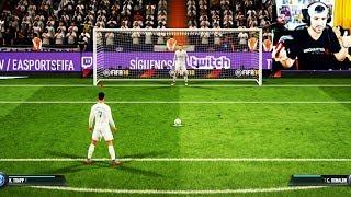 PENALTIS EN FIFA 18 - REAL MADRID VS PSG