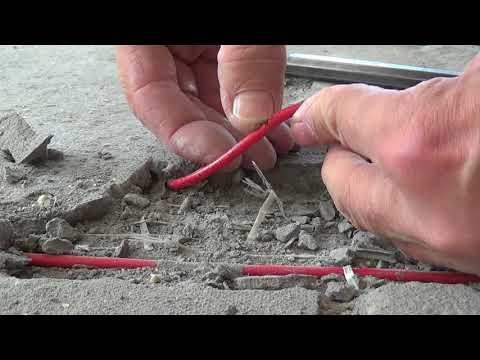 Как проверить нагревательный кабель