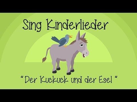 Der Kuckuck und der Esel - Kinderlieder zum Mitsingen | Sing Kinderlieder