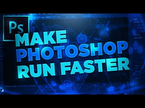 How To Make Photoshop Run Faster! (CC/CS6)