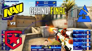 GRAND FINAL! NaVi vs Gambit - BLAST Premier - HIGHLIGHTS l CSGO