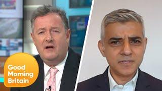 Sadiq Khan Defends Congestion Charge Increase | Good Morning Britain