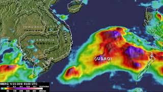 GPM Rainfall Analysis for 33W