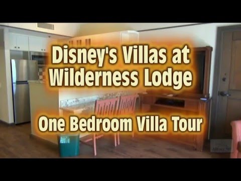 villas at disney's wilderness lodge 1 bedroom villa tour - youtube