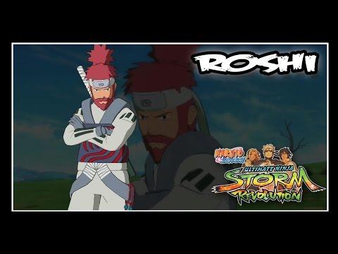 Naruto Shippuden: Ninja Storm Revolution - Jinchuuriki DLC Pack - ROSHI // Moveset